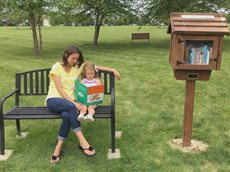 Little free library Ames Iowa