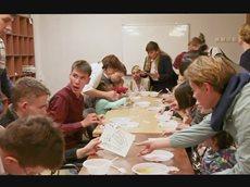 Кинокомпания Союз Маринс Групп поздравила воспитанников детского центра Благо с Днем Знаний