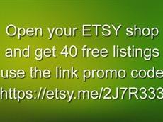 Etsy free listings code
